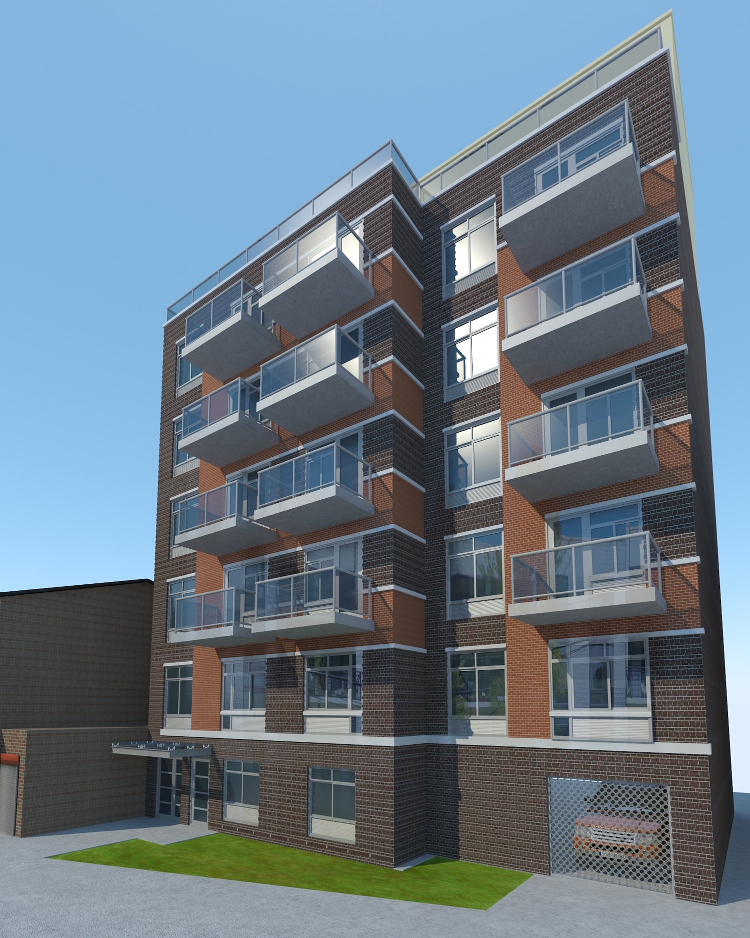 11-07 Welling Court, rendering by Architects Studio