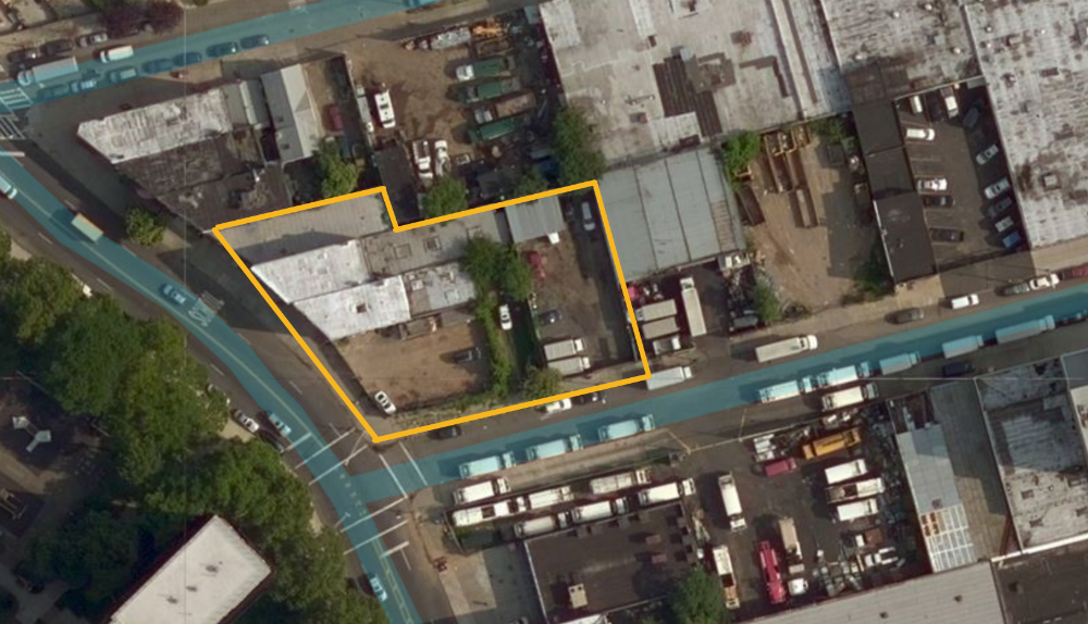 387 Bushwick Avenue, image via Bing Maps
