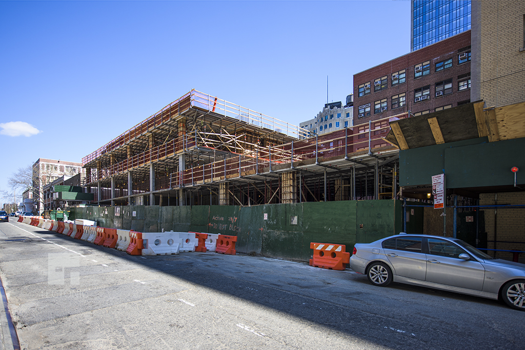 Construction at 41-21 28th Street. Photo by Tectonic