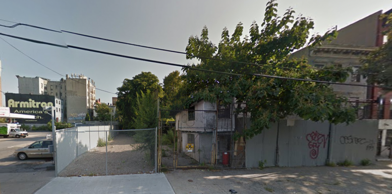 417 East 135th Street in 2014, image via Google Maps