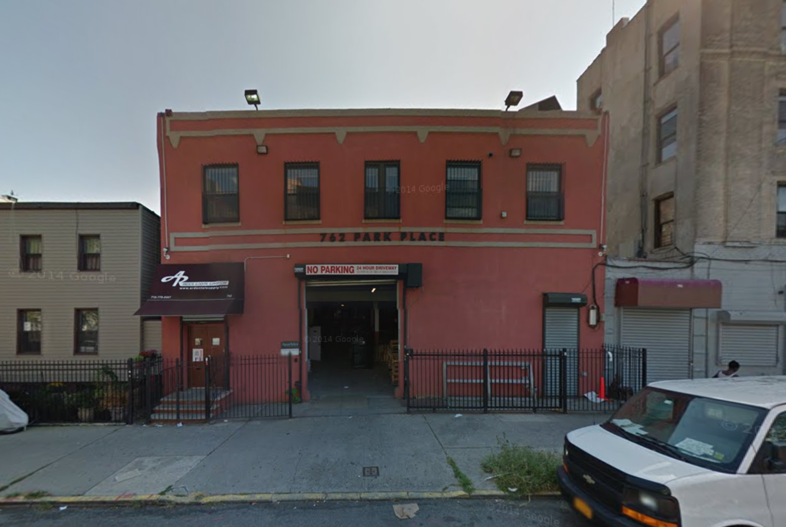 762 Park Place, image via Google Maps