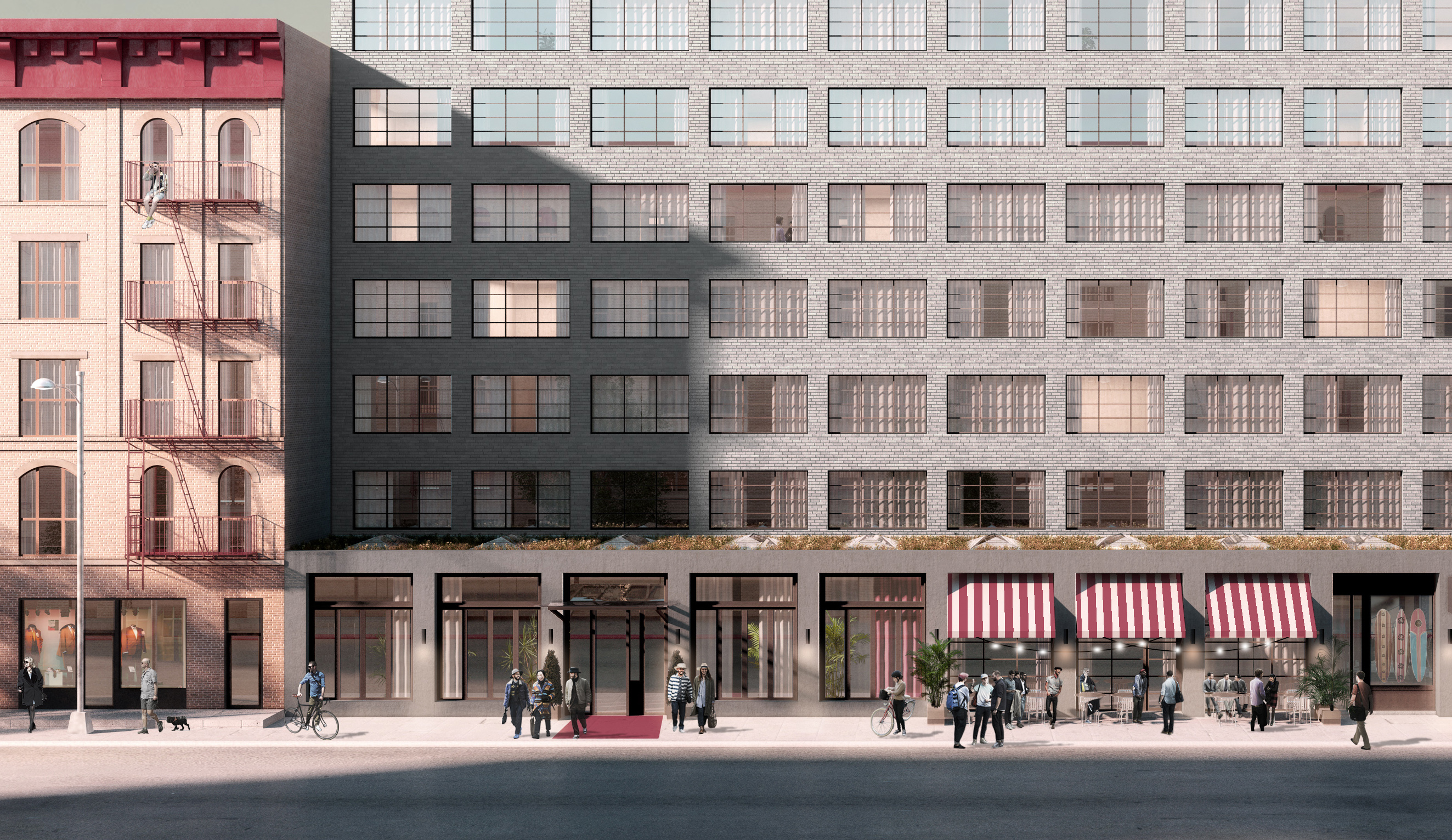 292 North 8th Street, rendering by Macro Sea