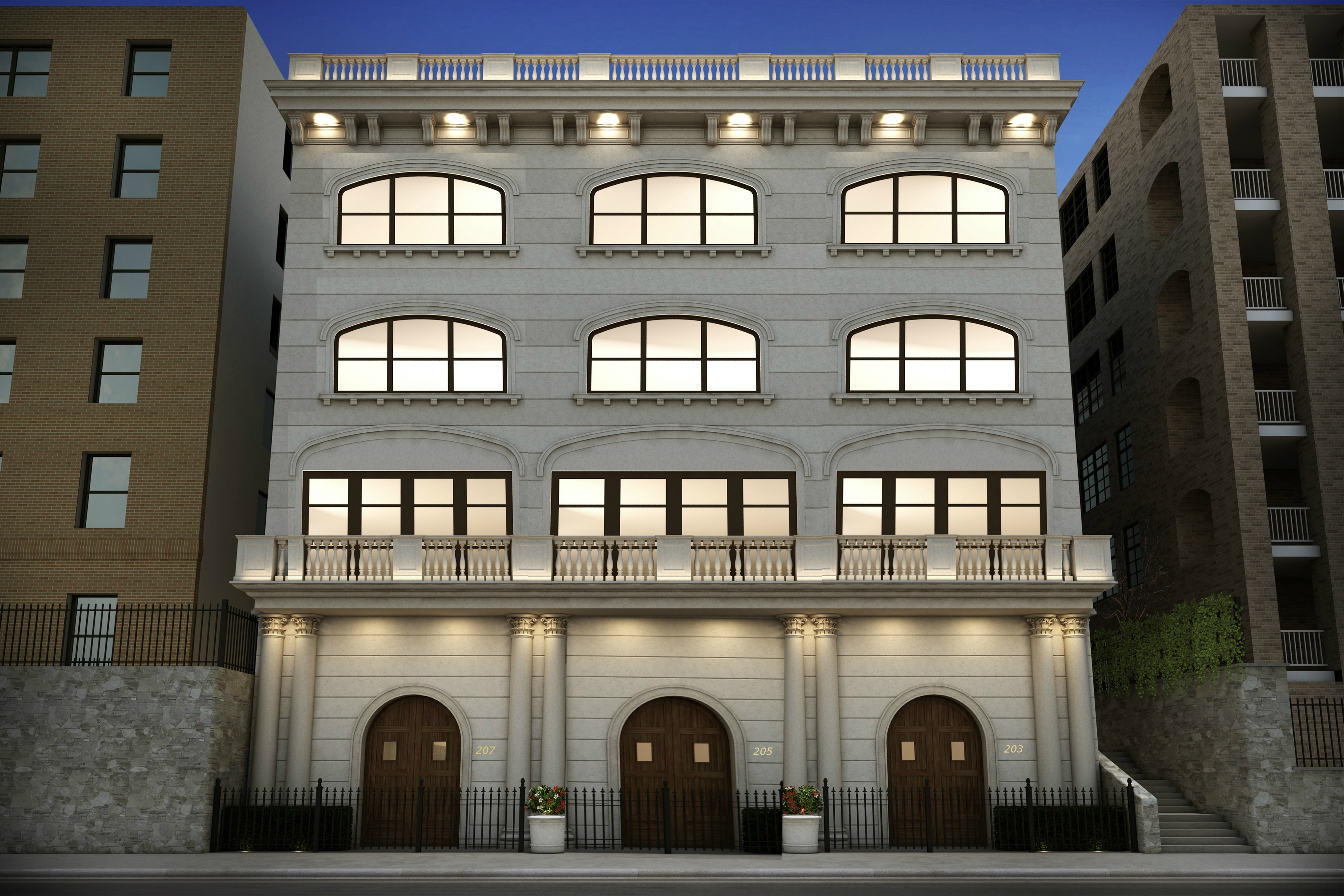 203-207 Cabrini Boulevard, rendering via Nest Seekers