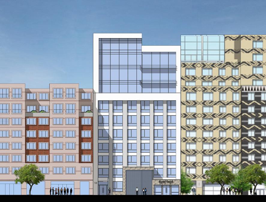 20 West 116th Street, rendering by GF55 Partners