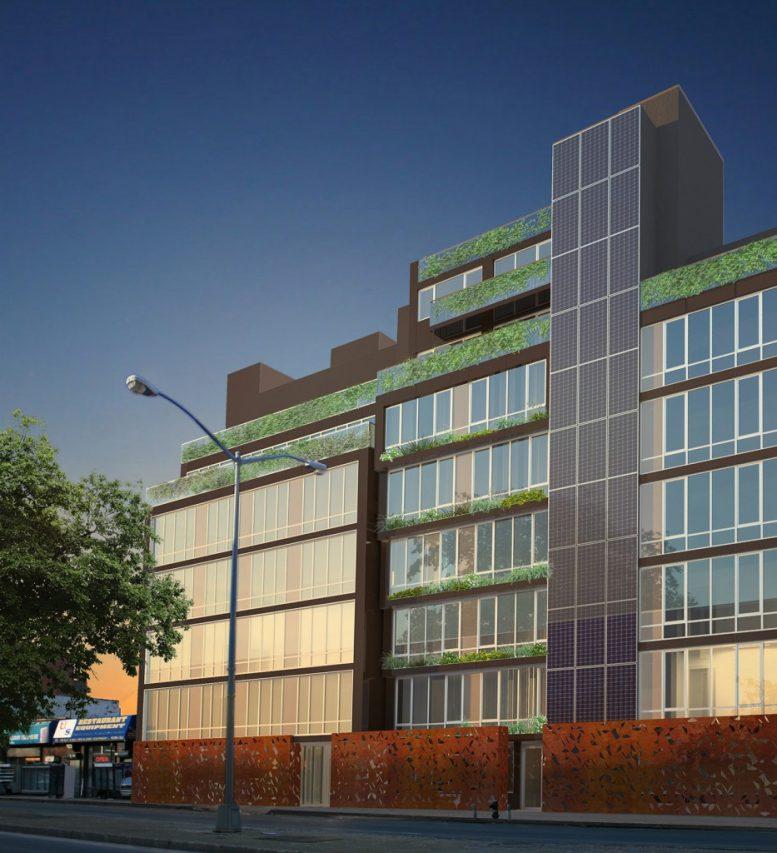 925 Atlantic Avenue, rendering by RoArt