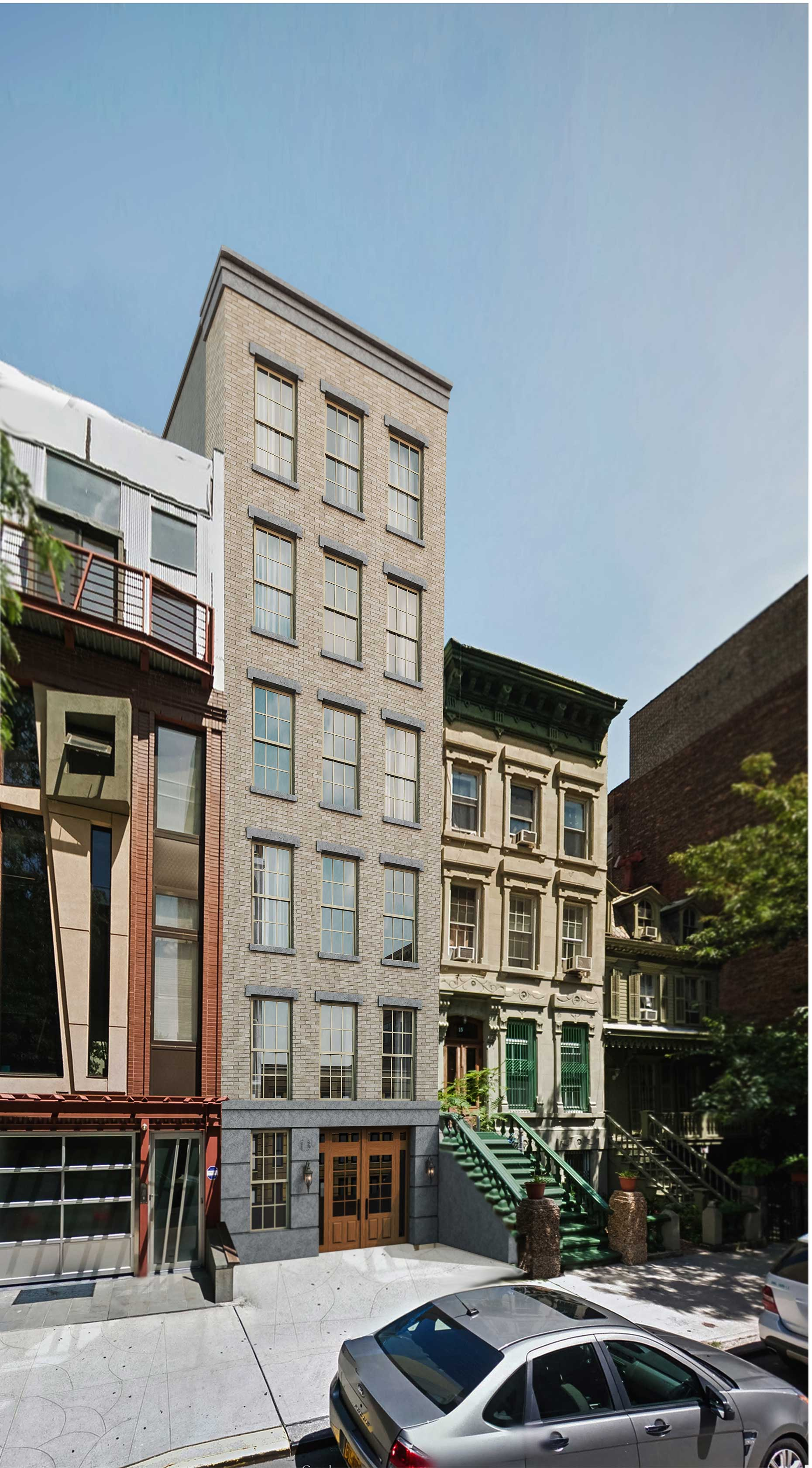 13 East 128th Street, rendering by Issac and Stern Architects