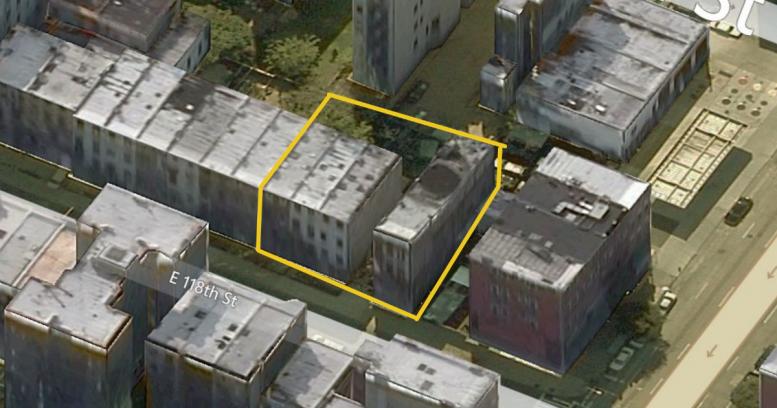 400A East 118th Street, image via Bing Maps