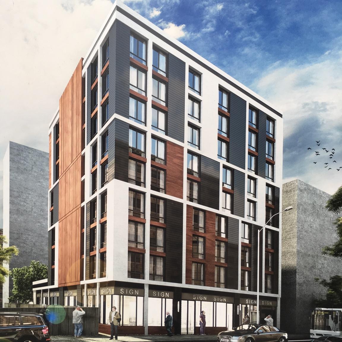 431 West 33rd Street, rendering by SLCE