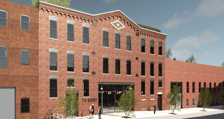 74 Kent Street exterior, rendering by SGA