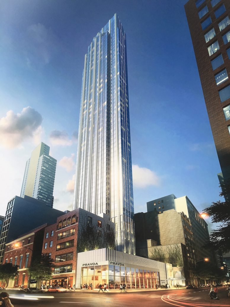 15 East 30th Street, rendering by Handel Architects
