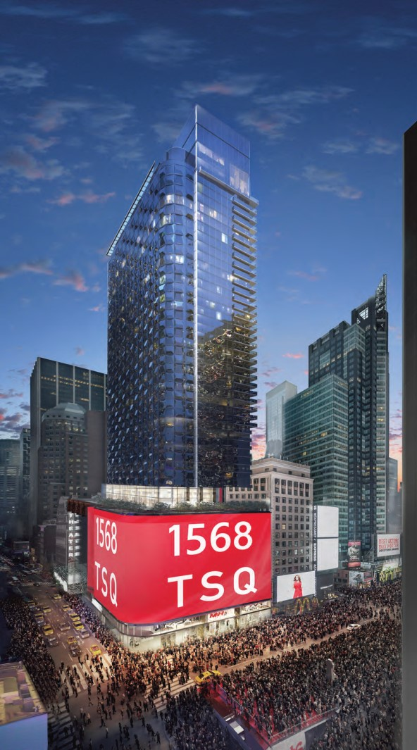 Rendering of 1568 Broadway. Credit: ArX Solutions