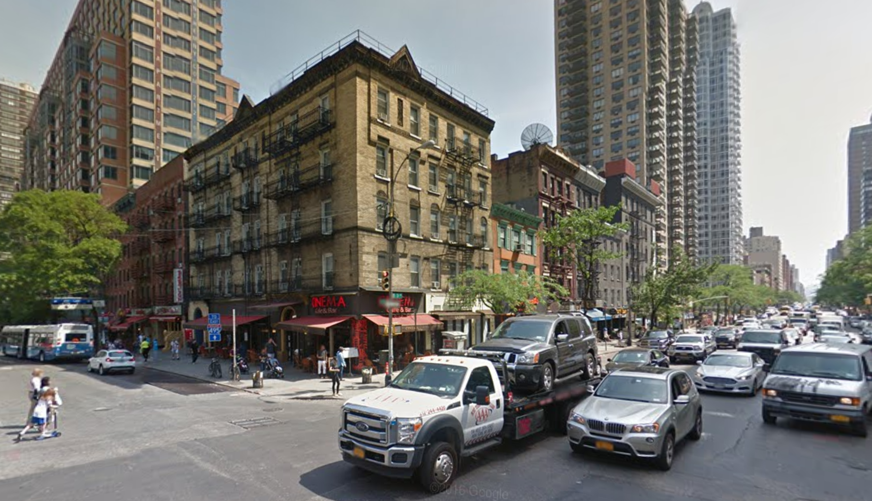 499 and 501 Third Avenue in June 2016. image via Google Maps