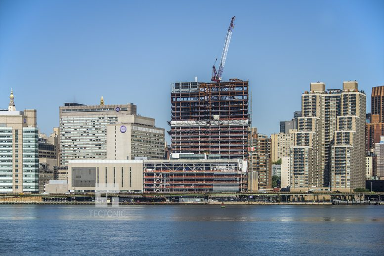 Construction of NYU Langone Medical Center's Building the Helen L. and Martin S. Kimmel Pavilion. Photo by Tectonic