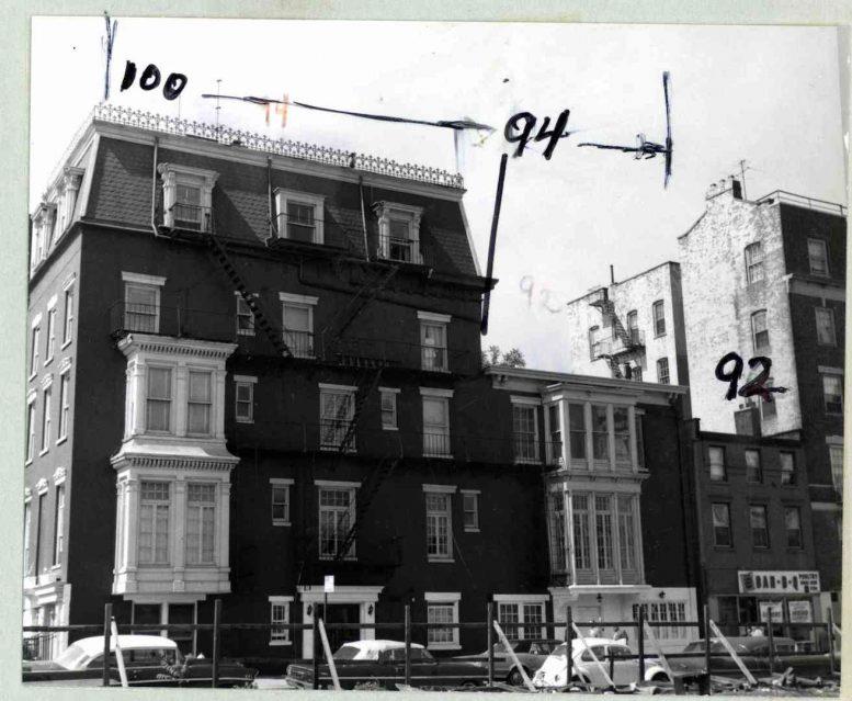 Historic photo of 100 Clark Street