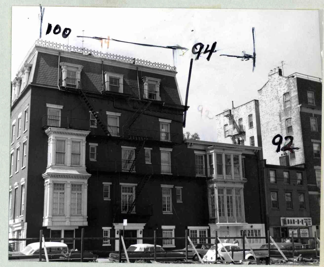 Historic photo of 100 Clark Street