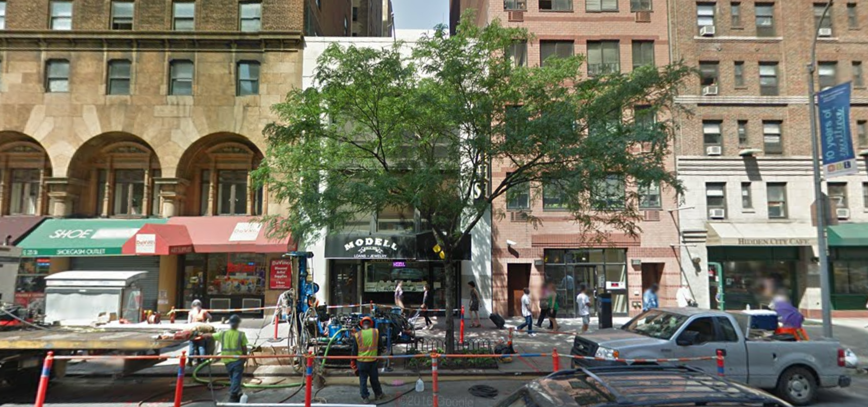 139 East 23rd Street, image via Google Maps