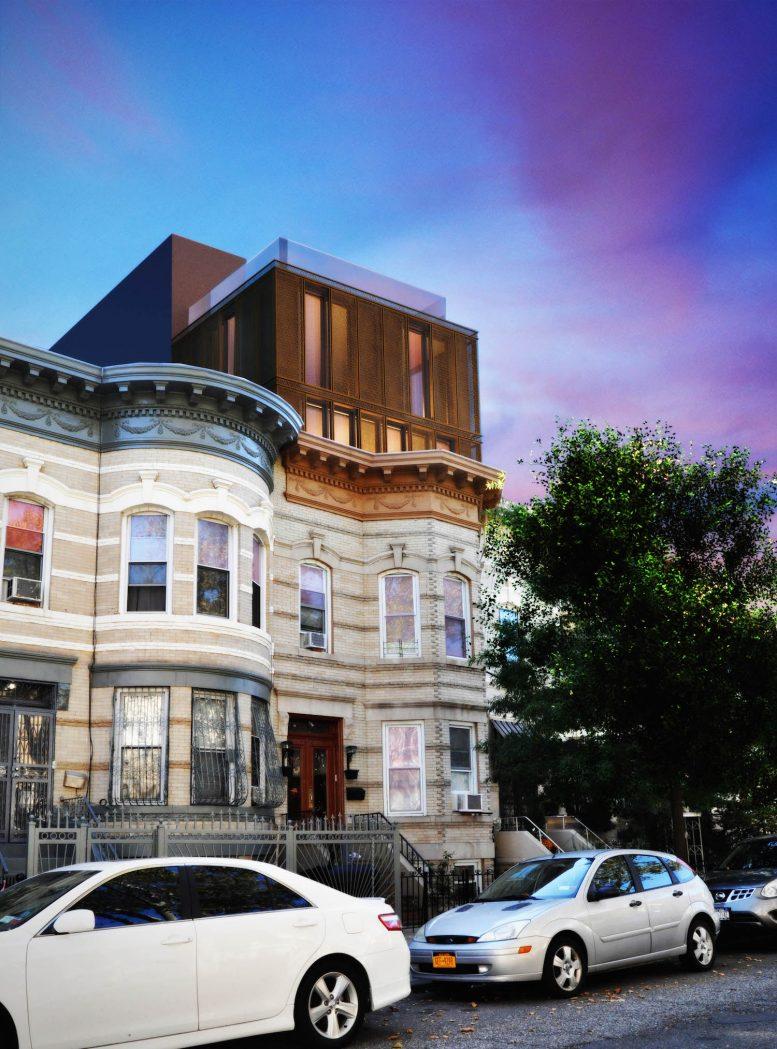 352 Weirfield Street, rendering by OPerA Studio
