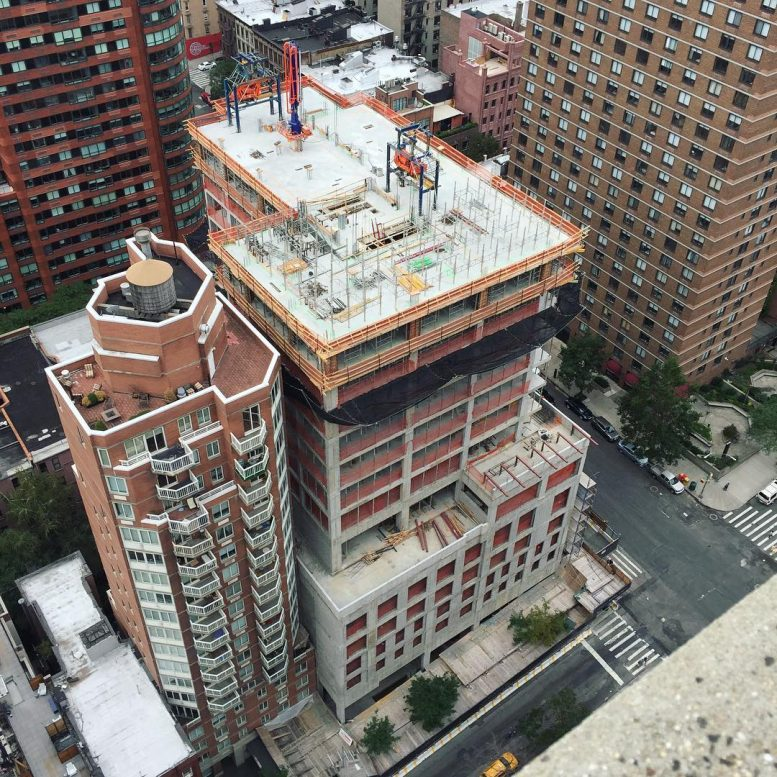 28 story 104 unit mixed use tower rises to 13th floor at for 13th floor augusta tower