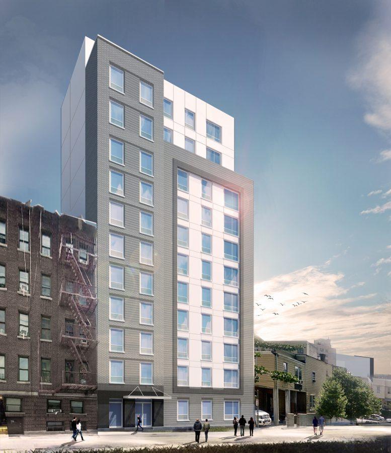 225 East 179th Street, rendering by GF55