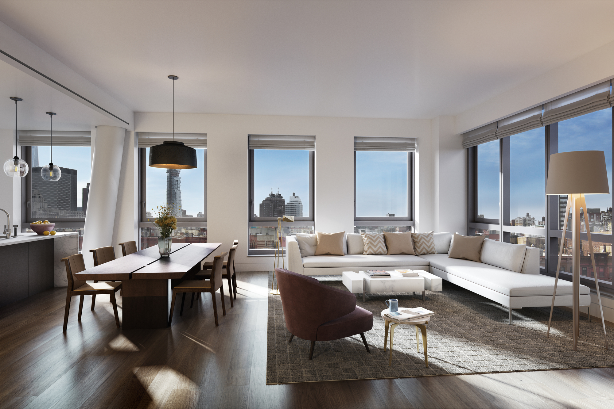 New Renderings For Condos At 242 Broome Street, 14-Story