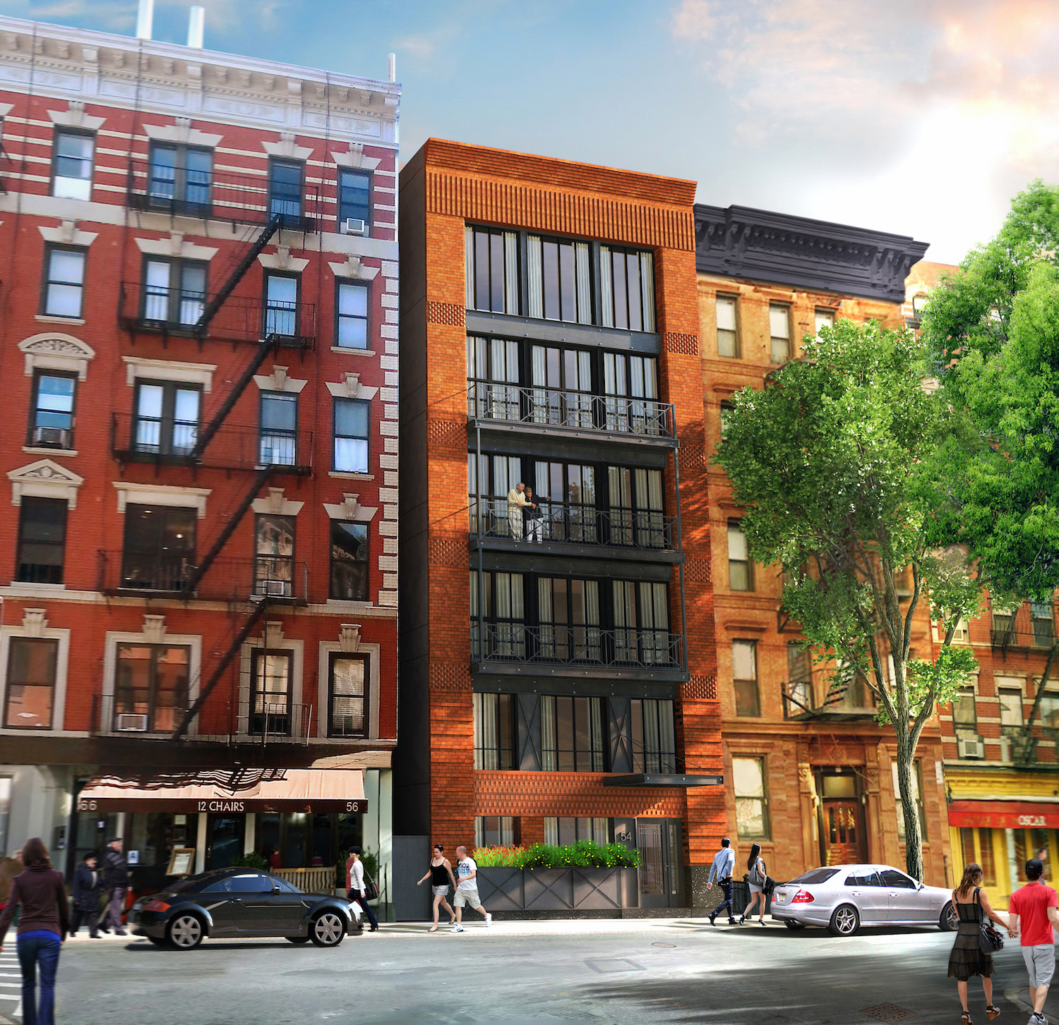 54 MacDougal Street, rendering by Building Studio Architects