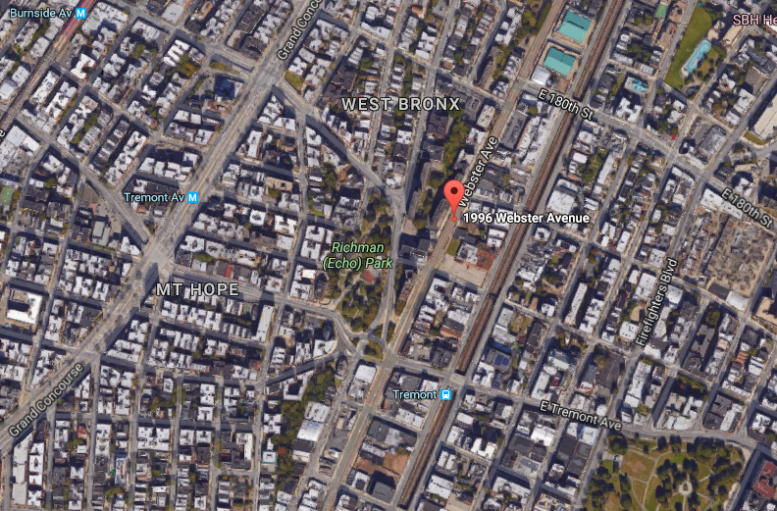 1996 Webster Avenue. Via Google Maps