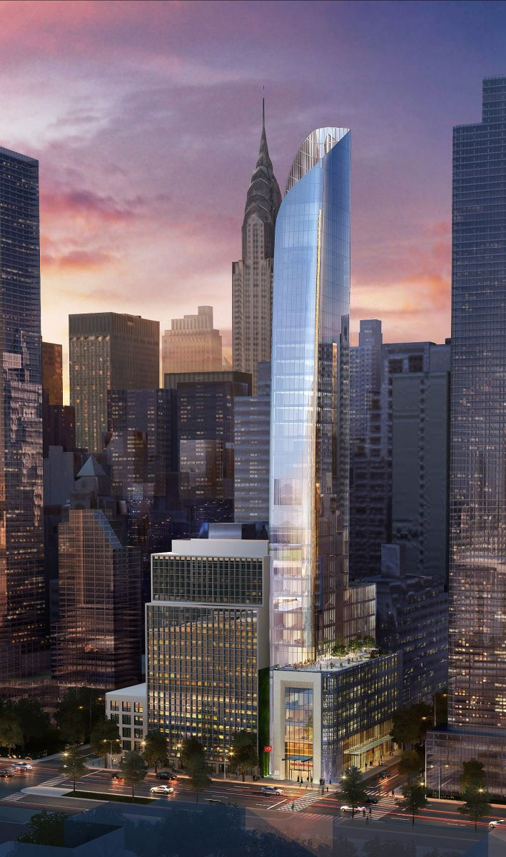 Turkey files plans for 35 story consulate and apartments for Consul building