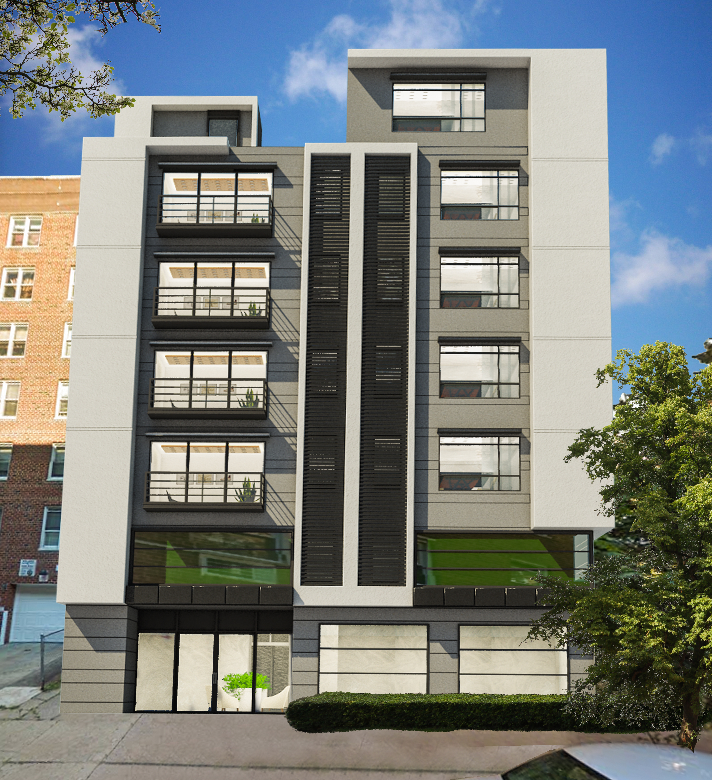 Nyc Apartment Building: Revealed: Seven-Story, 12-Unit Residential Building At 625