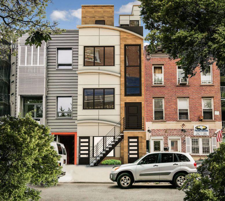 953 Pacific Street, rendering via Infinity Properties