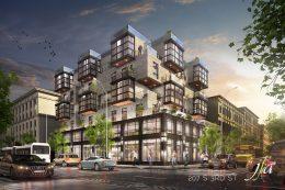 207 South 3rd Street. rendering by J Frankl Associates