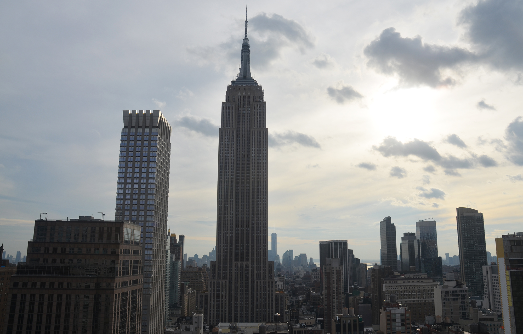 The Empire State Building as seen from the top of The Bryant. All photos by Evan Bindelglass unless noted