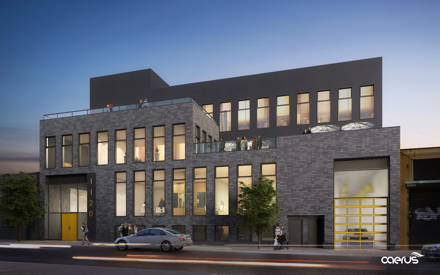 11-20 46th Road. rendering by C3D Architects