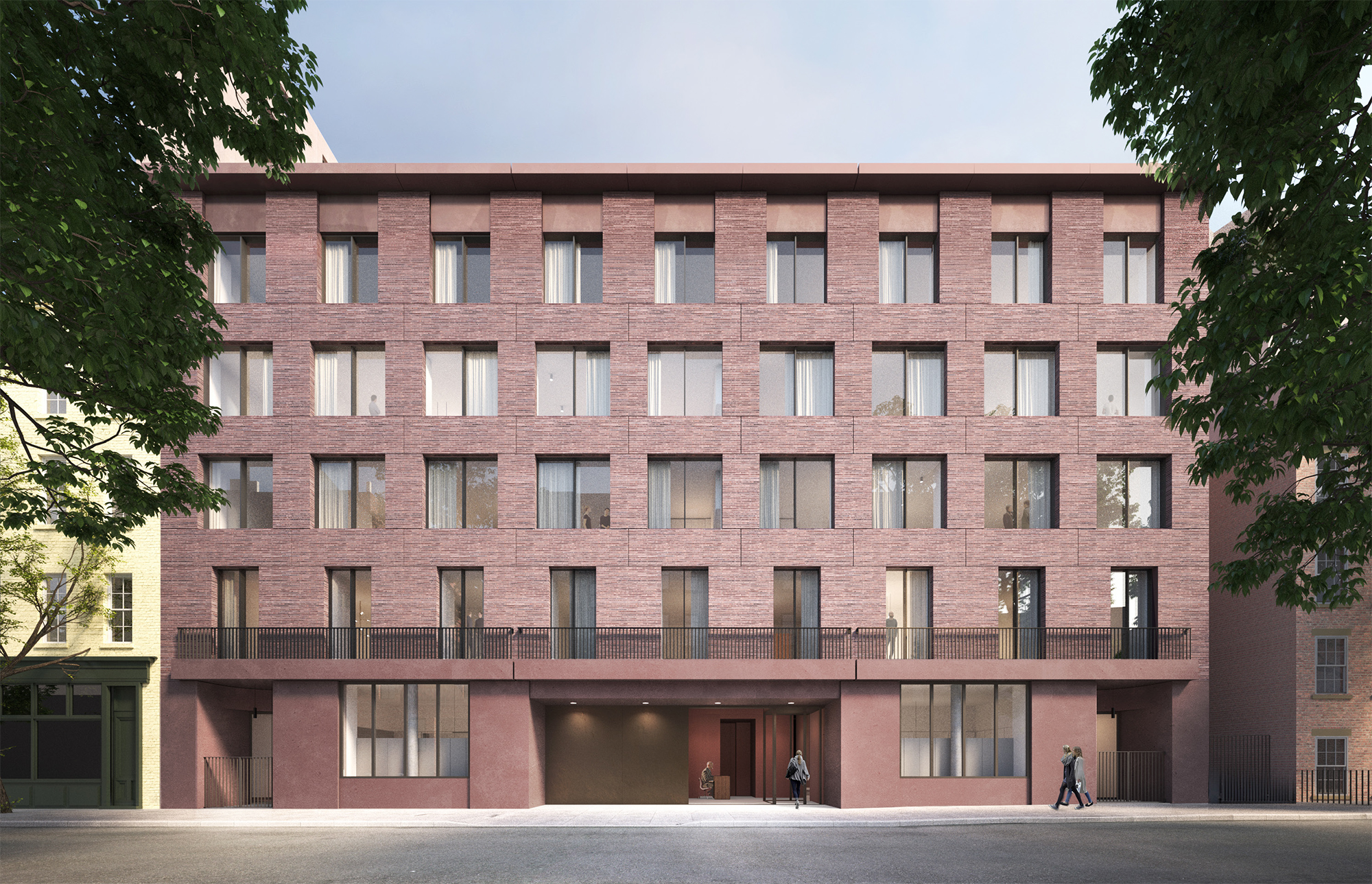 The latest proposal for 11-19 Jane Street, by Sir David Chipperfield