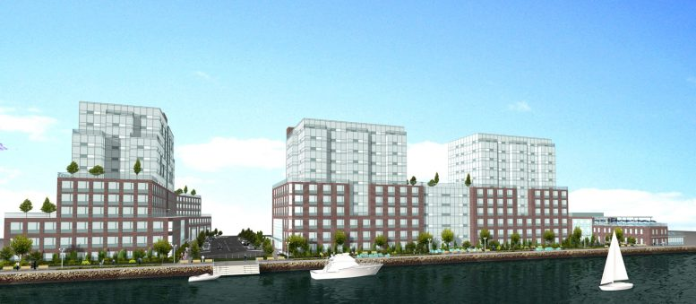 125 Edgewater Street, rendering by Caliendo Architects