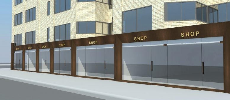 Rendering of 1114 Madison Avenue's updated storefronts. Credit: wHY Architecture.