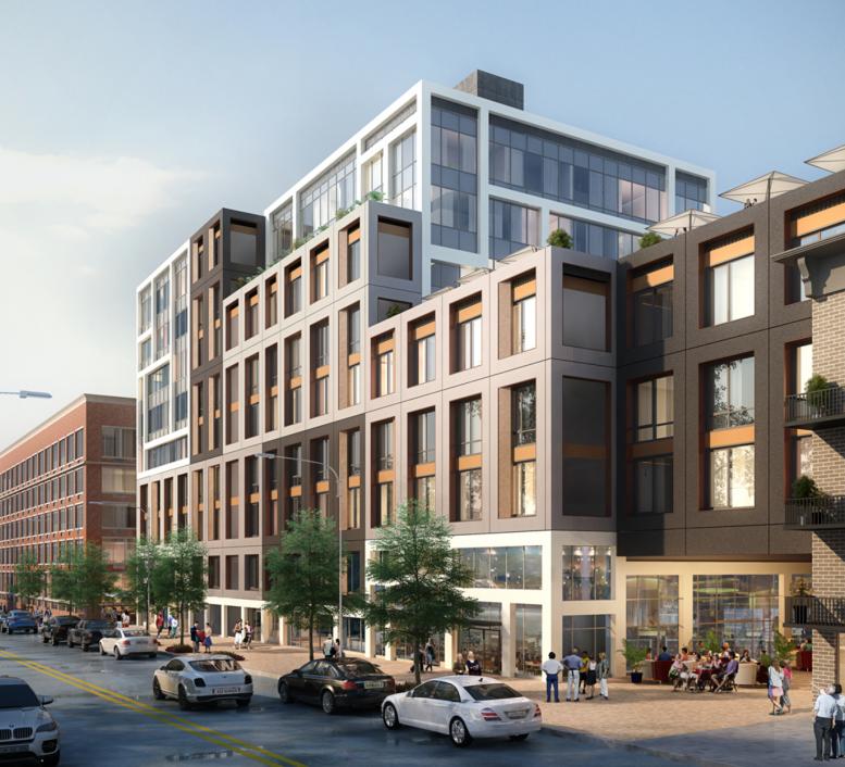 Street Housing: Reveal For 30-80 12th Street, Large Residential