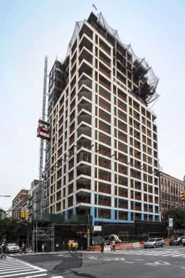 200 East 21st Street Topping Out