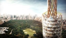 Central Park Tower View