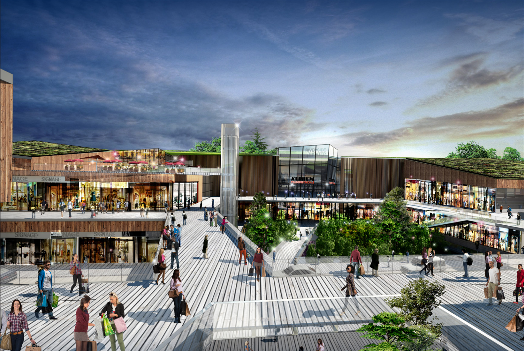 Reveal For Riverside Galleria Another Major Retail Center