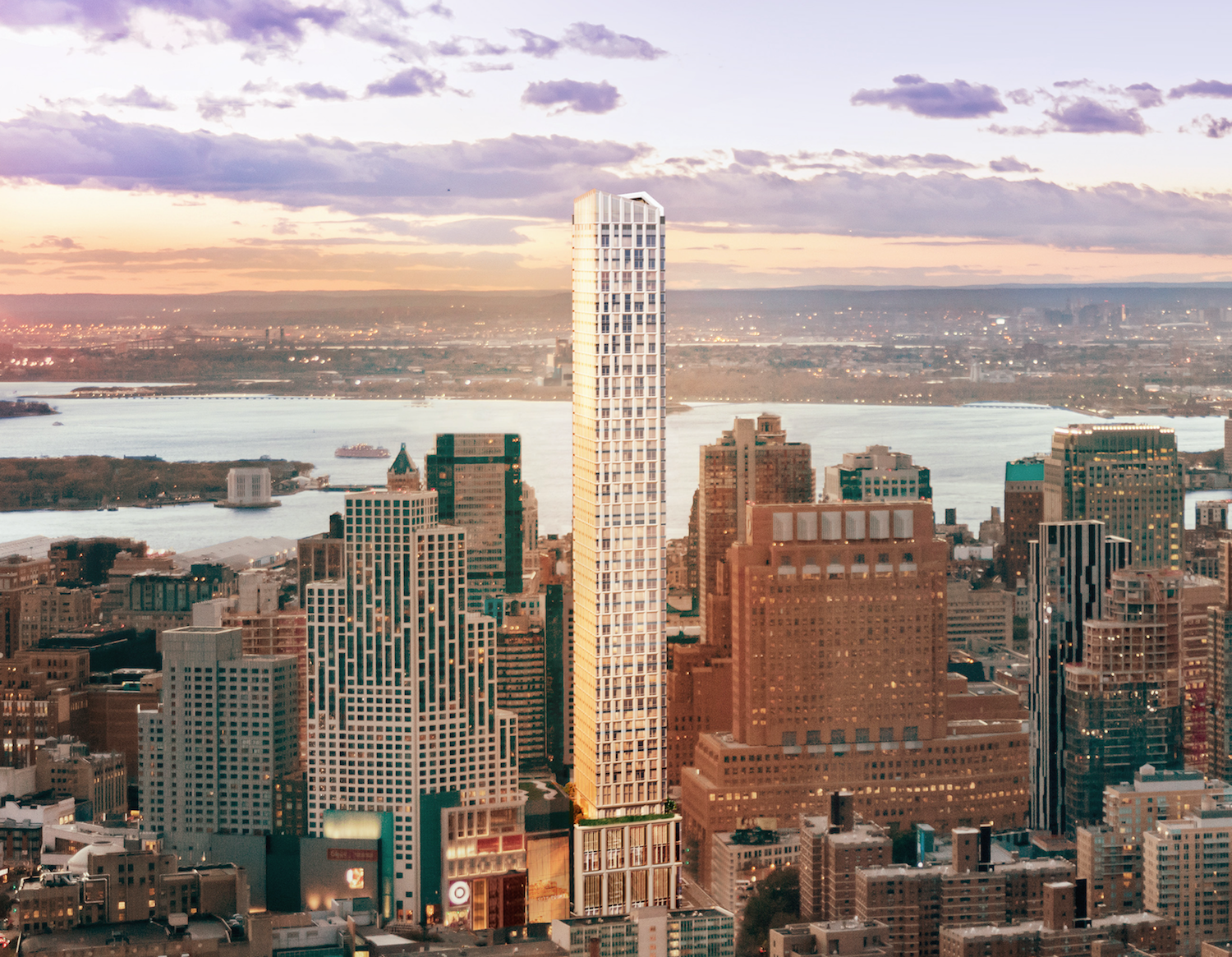 Brooklyn Point, rendering by Williams New York