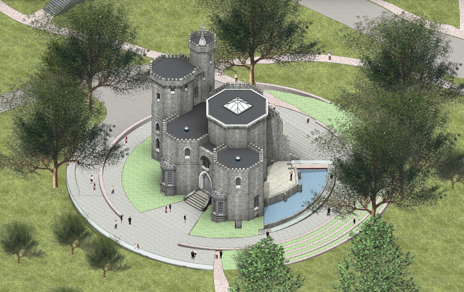 Plans To Transform Fonthill Castle Revealed Riverdale