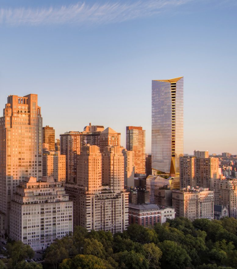Parking Deals Upper East Side: Extell's 50 West 66th Street Triples In Size, Will Become