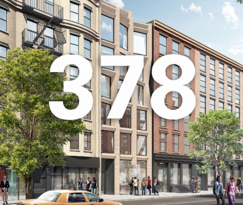 378 Broome Street, rendering by HWKN Architects