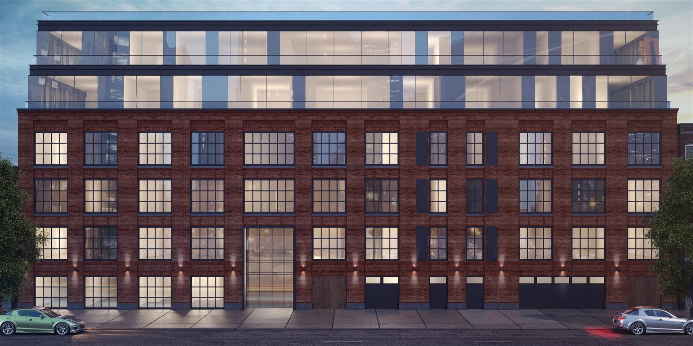 848 Lorimer Street, rendering by Meshberg Group