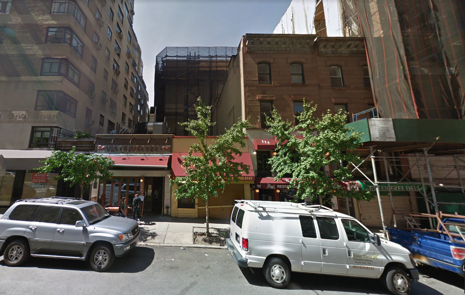 1228-1234 Madison Avenue, via Google Maps