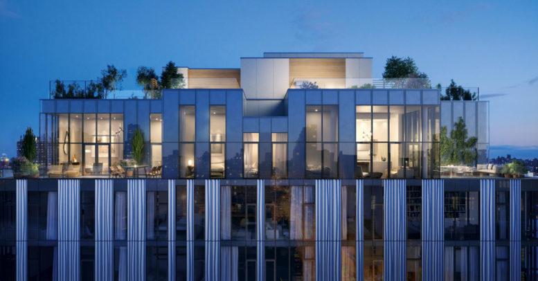 150 Rivington Street rooftop, design by GLUCK+