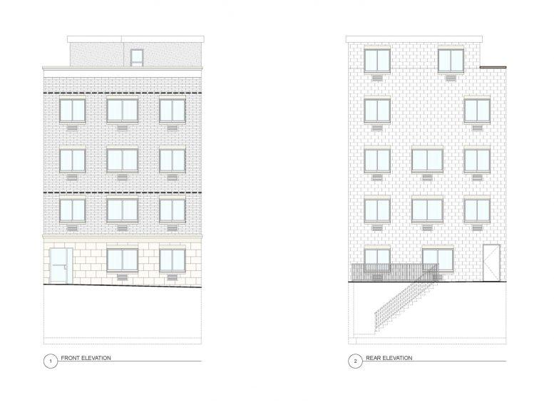1547 Leland Avenue, rendering by Badaly Architects