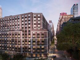 411 West 35th Street Hero View, Rendering by Binyan Studios