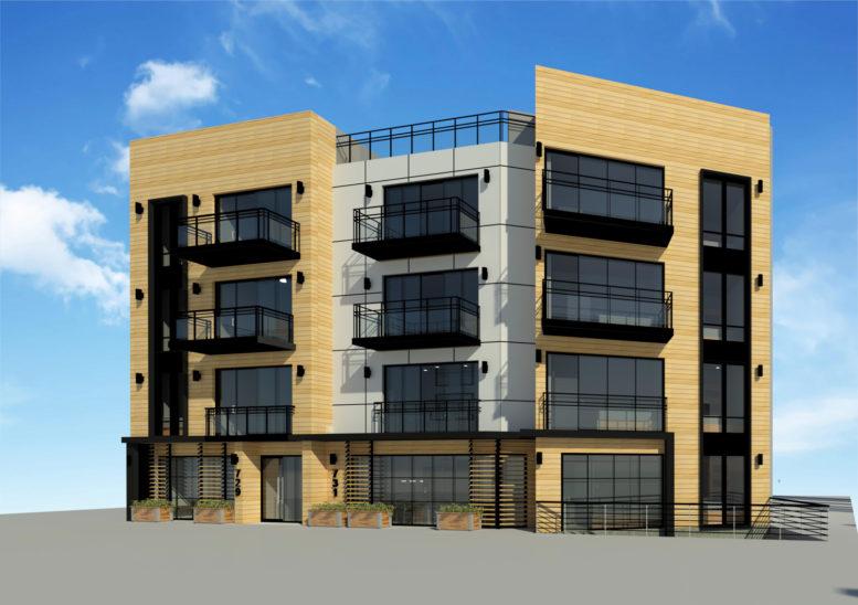 731-733 Bergen Street, rendering by Bizdesigns