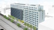 985 Bruckner Boulevard, rendering by Think!